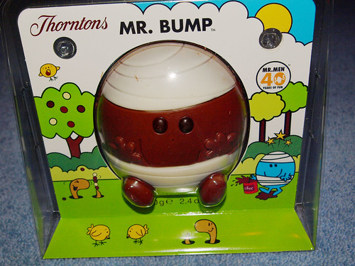 Thornton's Chocolate Mr Bump