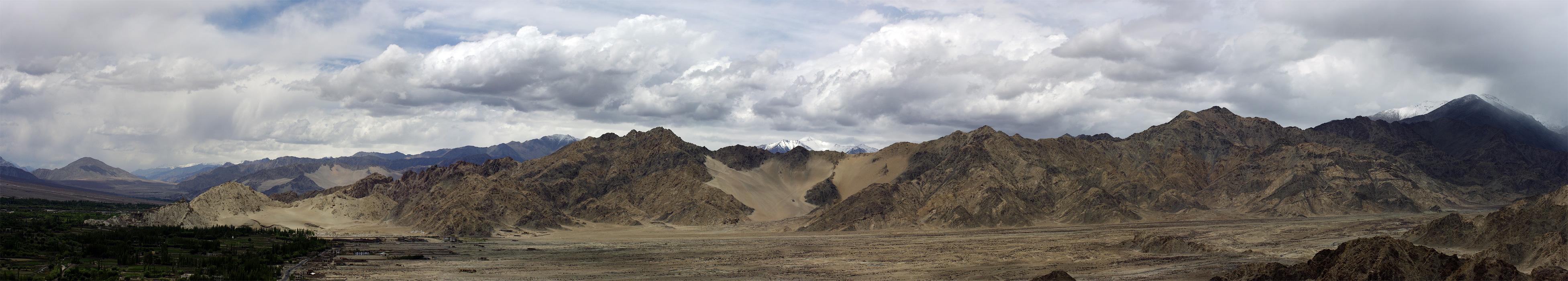 Долина Ле. Ладакх, Индия. Панорамы Гималаев