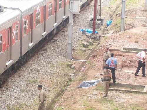 Morte na linha do trem CPTM
