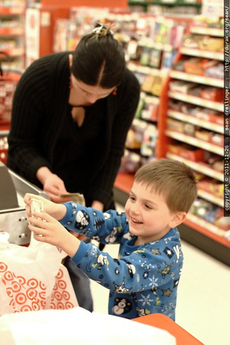 buying a toy with his own money, from his own wallet    MG 3049