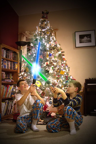 Christmas Jedi by The Bacher Family