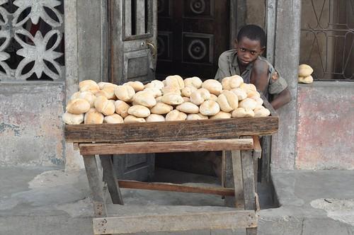 Bread on Mozambique Island