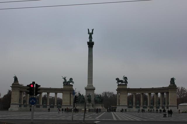 Monumento del milenio en H?sök tere?