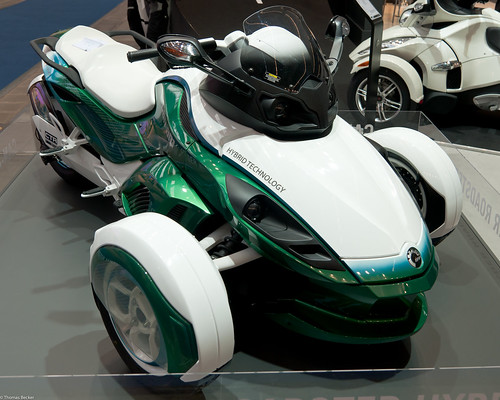 Can-Am Spyder Roadster Hybrid (72011)