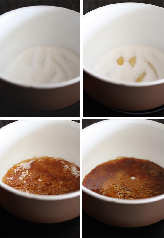 Caramelo camembert paso a paso