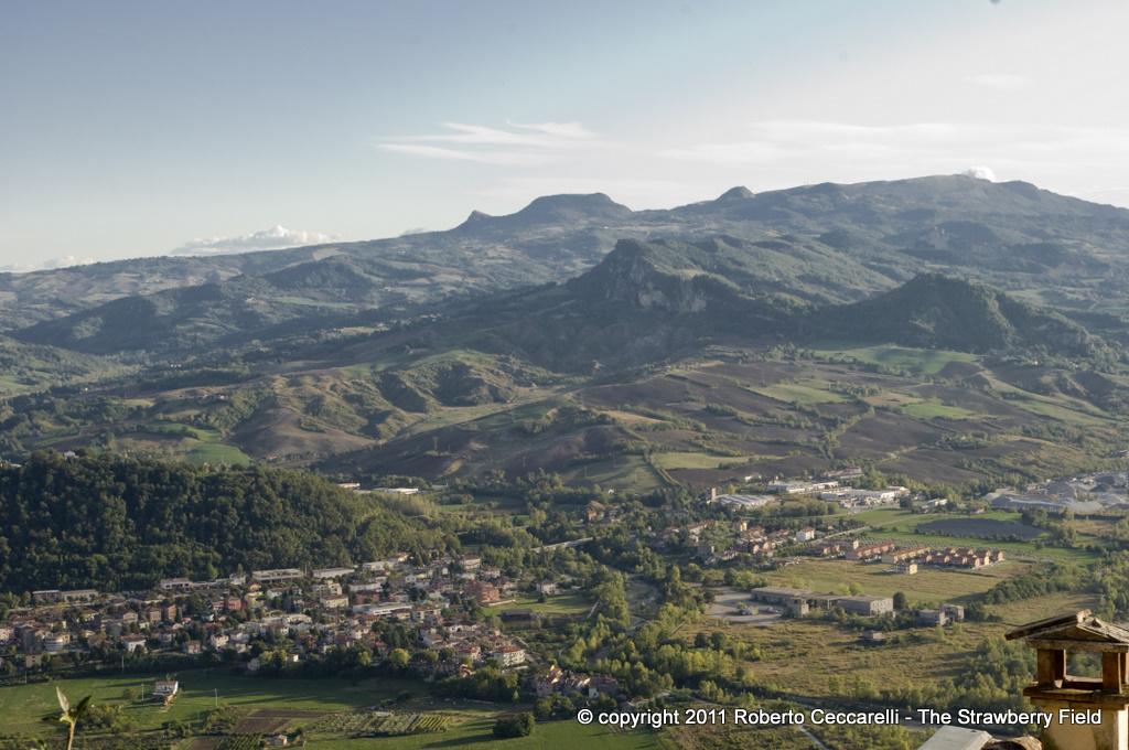 Pietracuta, la valle del Mazzocco, San Leo e il monte Carpegna