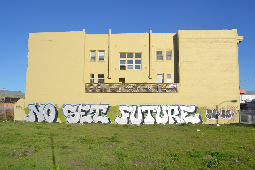 NO SET FUTURE, Graffiti, Street Art, Oakland,