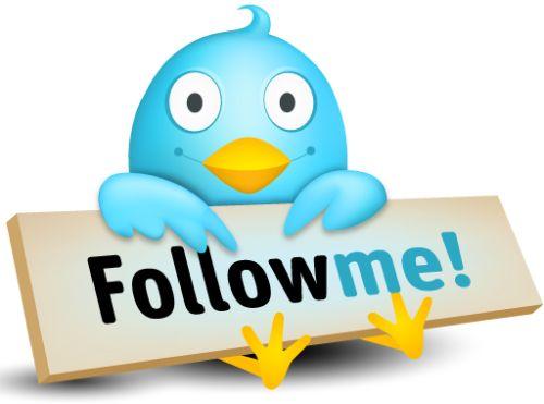 Follow-me Twitter¡