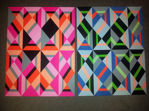 30x40 cm each by Carl Cashman