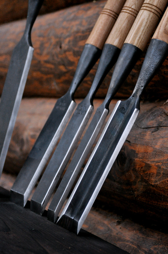 Hand Forged Timber Framing Chisels 9260 Spring Steel
