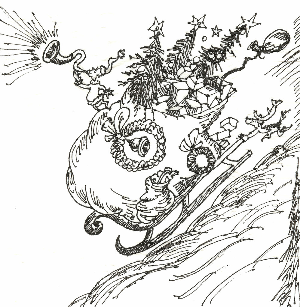 whoville Colouring Pages (page 2)