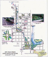 Waverley, Iowa downtown open space plan (by: EPA via Supporting Sustainable Rural Communities)