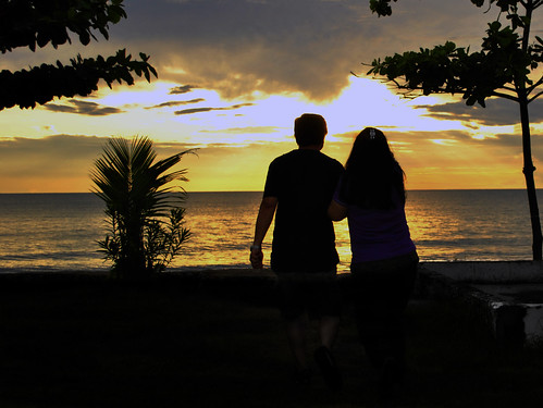 Lover's Sunset: A Walk To Remember