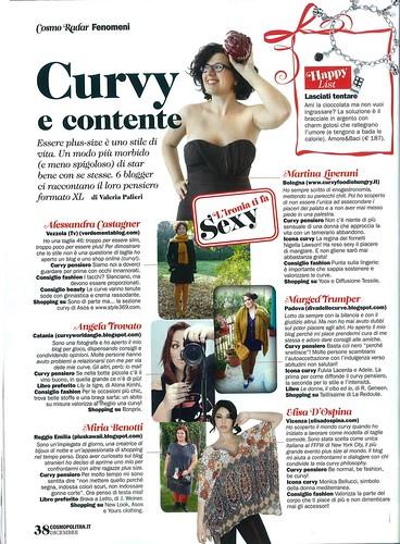 Cosmopolita Italy december issue