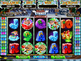 Santa Strikes Back Slot Machine