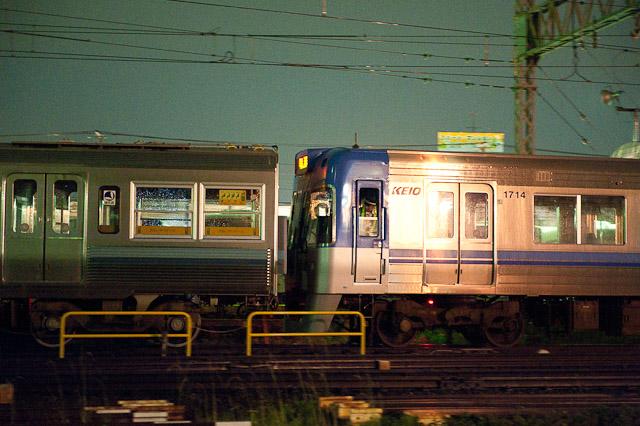 京王電鉄井の頭線 3000系 3029F デハ3129・デハ3079 搬出回送 0705