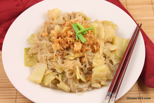 Day 341 - Cabbage Oyster Vermicelli