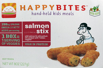 HappyBaby HappyBites Salmon Stix Box