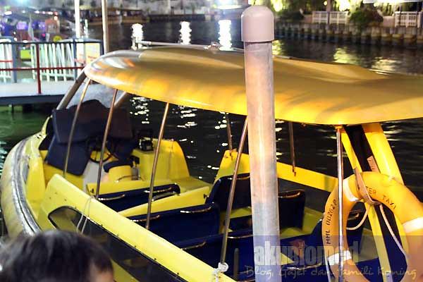 Bot teksi Melaka River Cruise
