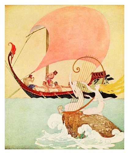 023-The adventures of Odysseus and the tale of Troya 1918- ilustrado por Willy Pogany