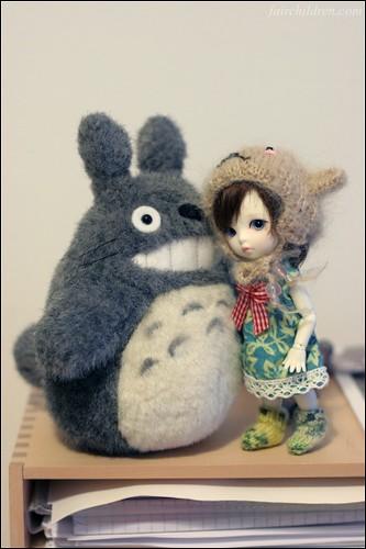 Hello, Mr. Totoro