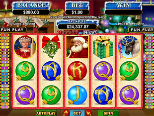 Naughty or Nice Slot Machine