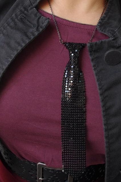 OOTD: Sparkle Tie