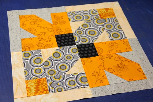 Orange/Gray 12x12 Block Construction