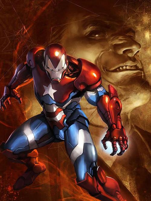 Desenhos Nerds, Iron man, capitão américa