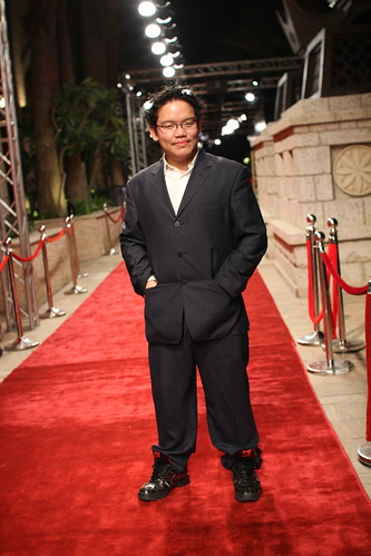 At the red carpet of Dubai International Film Fest 2011