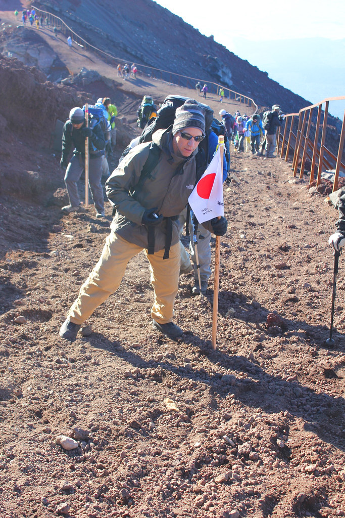 Mt. Fuji experience report (Yoshida route) Part3 (26)