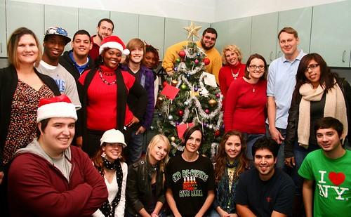 Secret Santa party 12-13-11