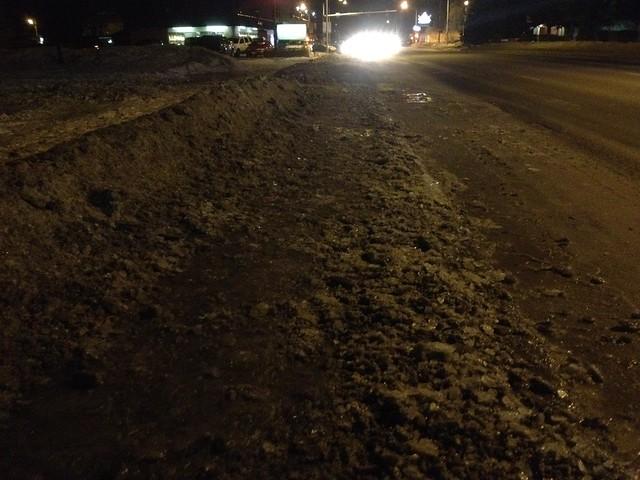 How Anchorage makes its sidewalks unwalkable in winter