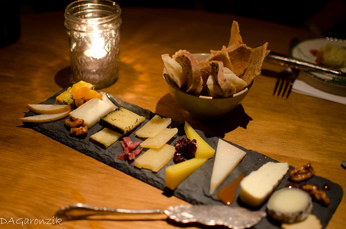 Cheese Tasting Plate - Talula's Garden