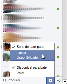 Restringir chat no Facebook
