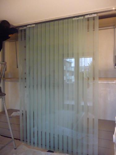 Forum cucina salotto parete in vetro - Tende per cabina armadio ...