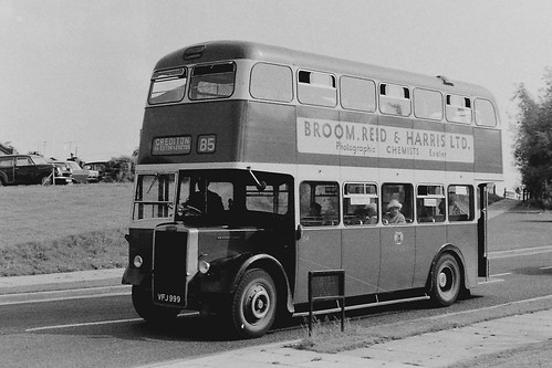 Exeter  VFJ999  July 1968