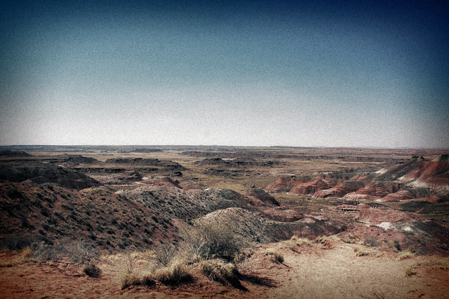 2008, Painted Desert, Arizona