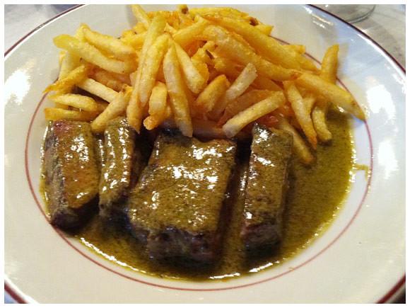 Rib-eye steak, Relais de l'Entrecôte - Geneva, Switzerland