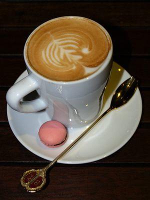 Ferringhi Garden cafe latte