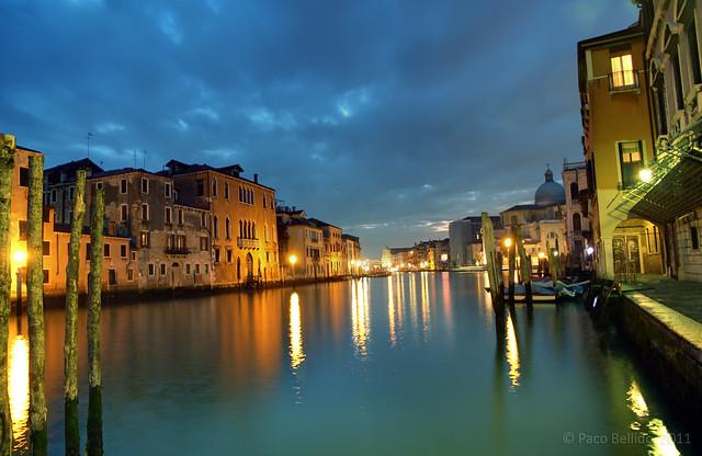 El Gran Canal por la noche. © Paco Bellido, 2011