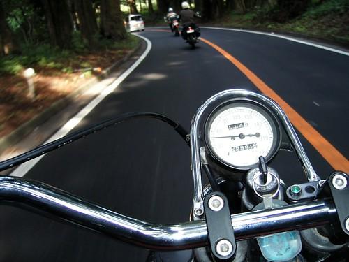 Motorcycle rides 日光杉並木