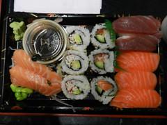 Kokoro Sushi Bento - bento tray