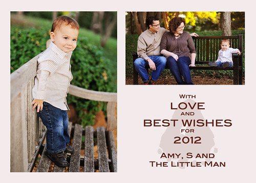 Christmas Card 2011 BACK for Ate up