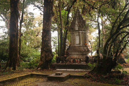 Shrine @ Doi Inthanon peak