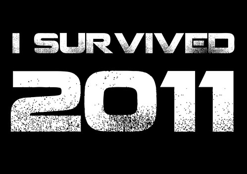 I SURVIVED 2011 - The T-shirt by Teacher Dude's BBQ