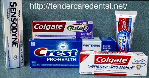 Toothpaste. Tigard TenderCare Dental 11565 SW Hall Blvd, Tigard, OR 97223 (503)670-7088