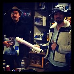 盛岡でGOOD VIBESを放つクラブ MAD DISCO にもポスターフライヤー渡しました! 他今日は東北中の同志達へ発送完了! 皆様手に取って見てくださいね!#ajs2012