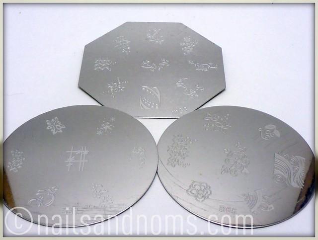 KKCenterHK Stamping Plates: B61, B65, and M33