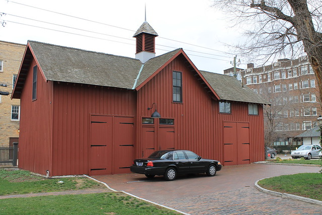President Benjamin Harrison Barn And Carriage House